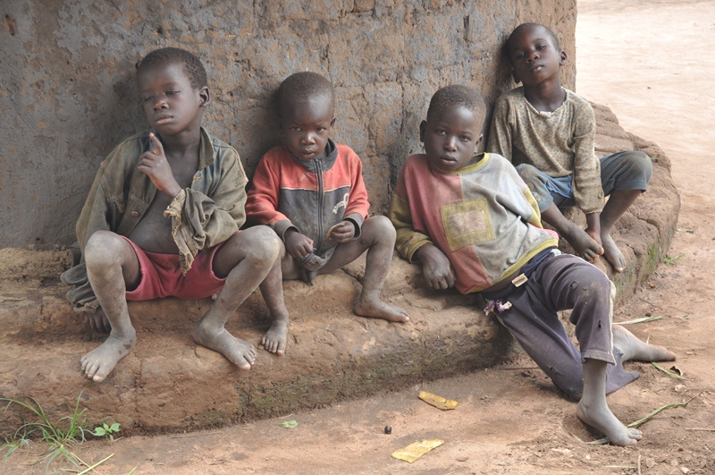 Education is now a dream not about to come true for these little ones since they're always on the run due to land grabbing.