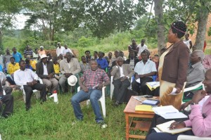 RDC mubende in the meeting