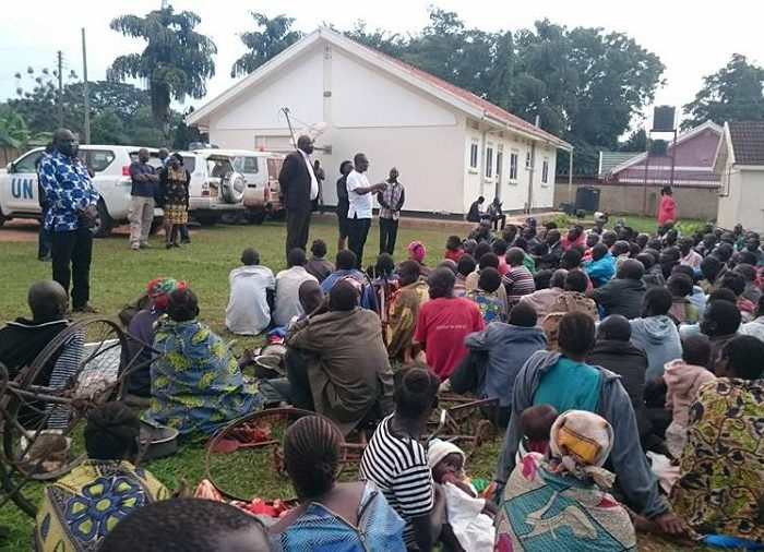 Rural farmers of Apaa, northern Uganda, have occupied the UN Office in Gulu for more than three weeks