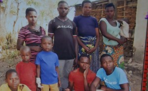 Some of the family members of Hategeka Esau