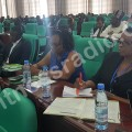 Hon. Anifa Kawooya attending the conference in Yaounde Cameroon(1)