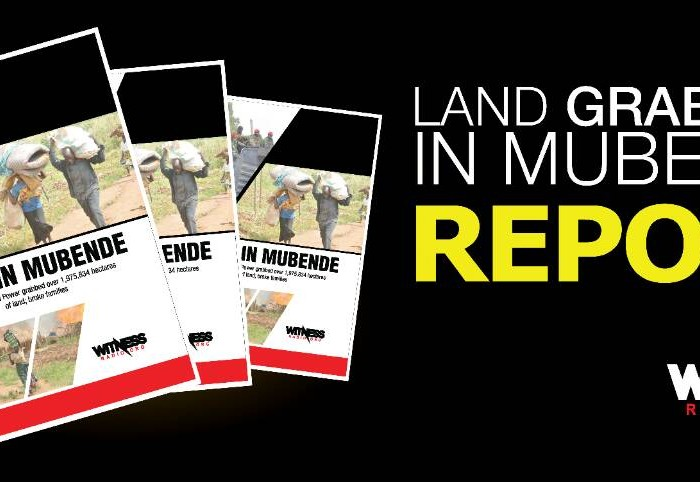 2 million hectares of land grabbed, 190,000 families violently displaced in Mubende district in 2017- Witnessradio.org report.