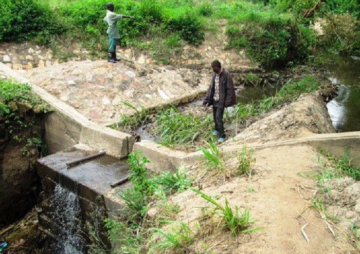 Kasese irrigation dam in sorry state
