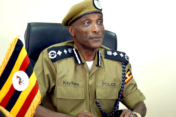 Kayihura suspends 4 police commanders over land grabbing in Mubende