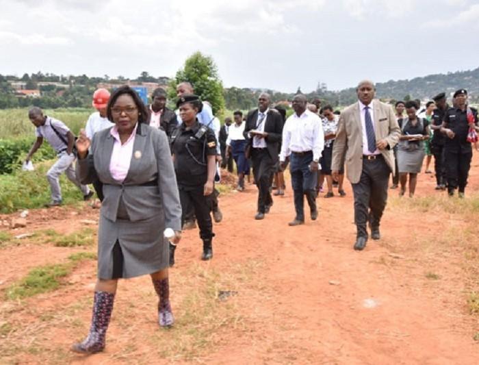 Land probe staff arrested over 'vital information'
