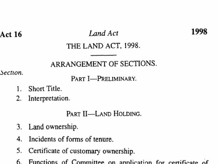 The Land Act 1998: Uganda's 20 year old gambling to Land Ownership