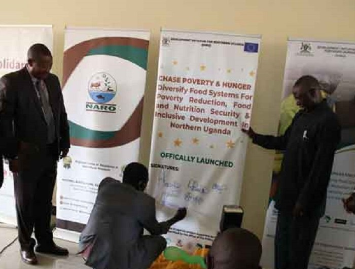 UGX 25 billion chase hunger and poverty project launched in Lango