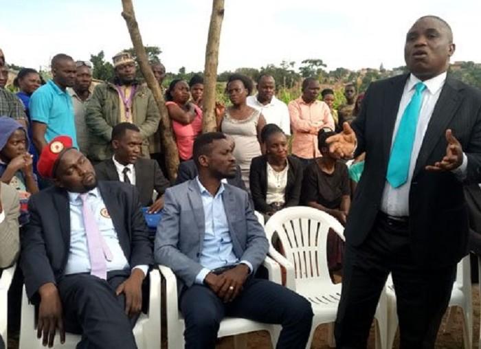 Bobi Wine, Lukwago assure Lusanja land eviction victims of continued support