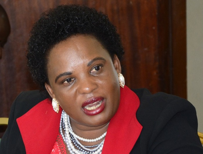Minister Betty Amongin Pinned Before The Land Inquiry Commission