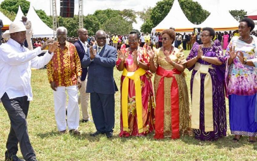 Museveni Nakasongola forest giveaway