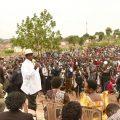 Museveni at Lusanja