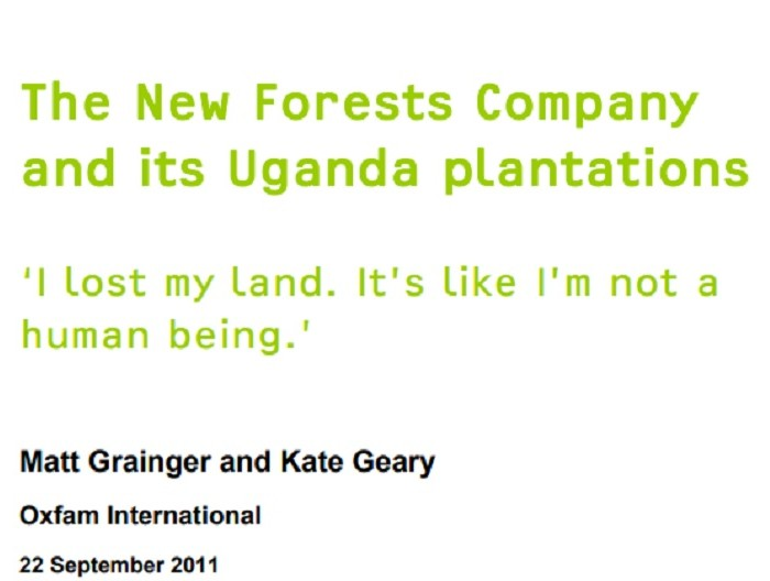 The New Forests Company and its Uganda plantations