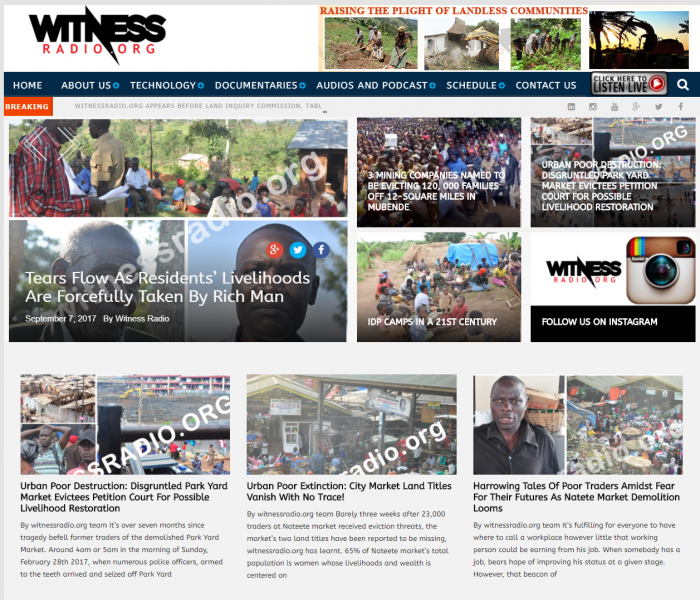 Witnessradio.org Sued For Amplifying Voices of Violently Evicted Communities Off 2-Square Mile Land