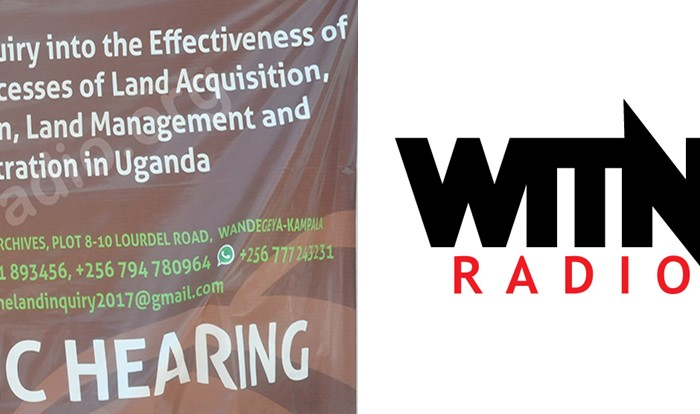 Witnessradio.org Appears Before Land Inquiry Commission, Tables Evidence of Severe Torture, Destruction of Homes, and Loss of Livelihoods Meted against Poor Residents in Mubende