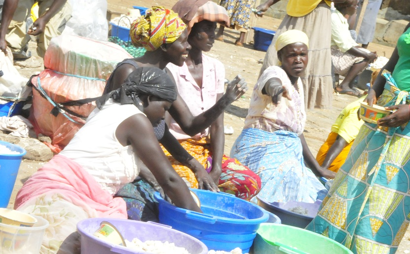 Women-selling-cassava-at-a-market-reecently.-Photo-by-Okaba-Patrick.