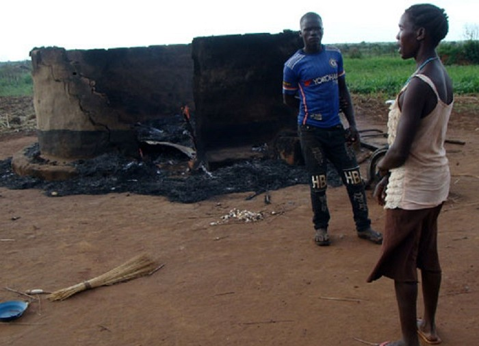 Houses Burnt As Tribal Clashes Ravage Kiryandongo