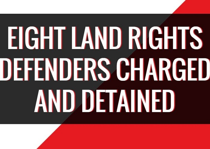 Eight land rights defenders released on bail