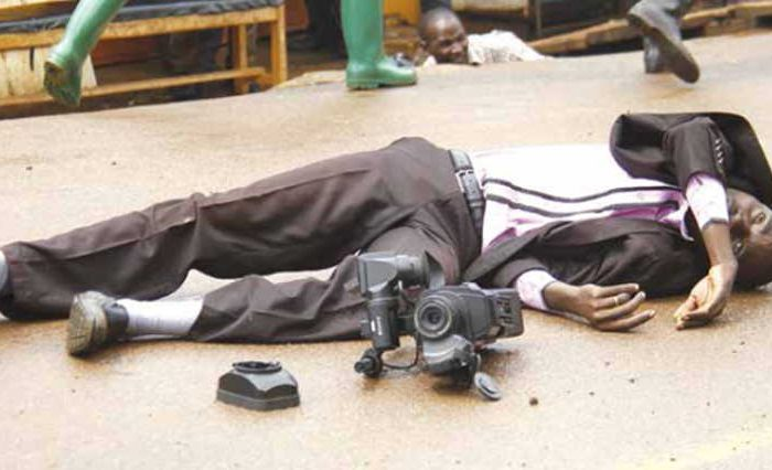 Ugandan army to punish soldiers for torturing Journalist in Kampala