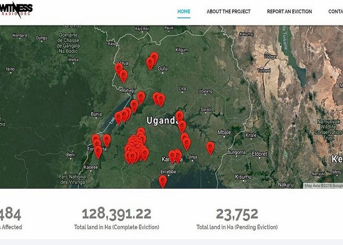 A land eviction portal in Uganda has been launched to track and document land evictions.