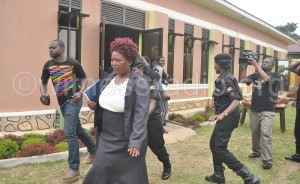 Florence Beyunga RDC Mubende being arrested